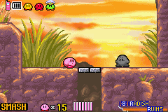 Kirby & the Amazing Mirror - Level  - Showdown - User Screenshot